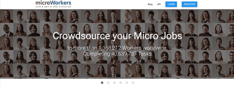 Microworkers sites like fiverr