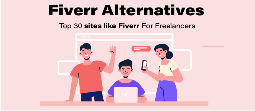 top 30 sites like fiverr