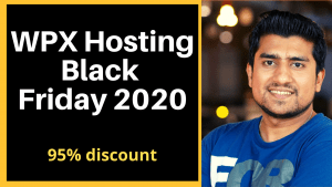 WPX Hosting Black Friday 2020- 95% discount